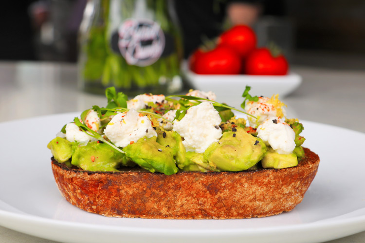 Avocado Toast with ricotta